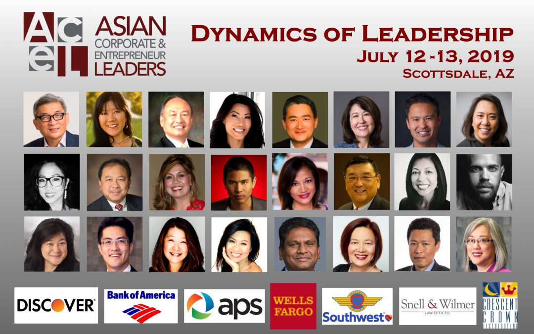 PROGRAM SCHEDULE: 2019 ACEL DYNAMICS OF LEADERSHIP CONFERENCE