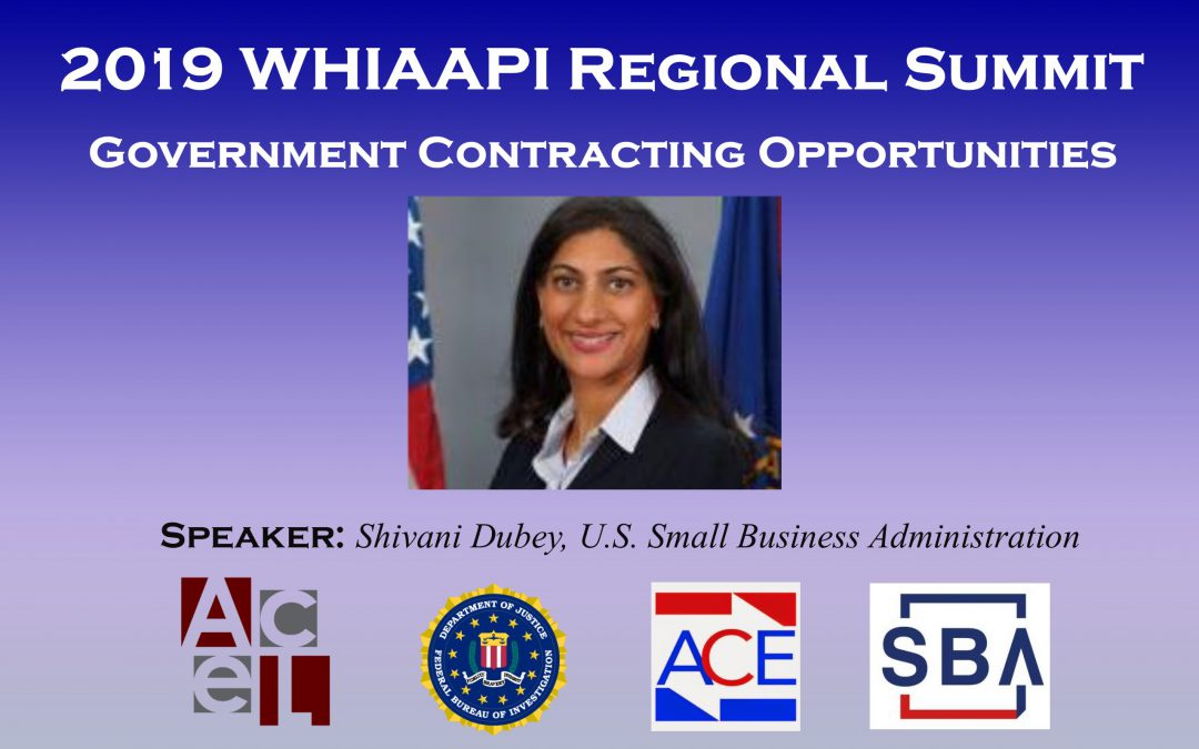 WHIAAPI Summit: Government Contracting Opportunities